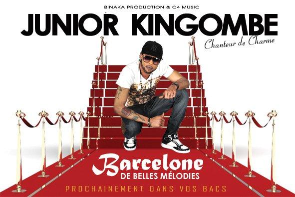 JUNIOR KINGOMBE PREMIER FLYER/ ALBUM B2BM (BARCELONE DE BELLES MÉLODIES) PROCHAINEMENT DISPONIBLE