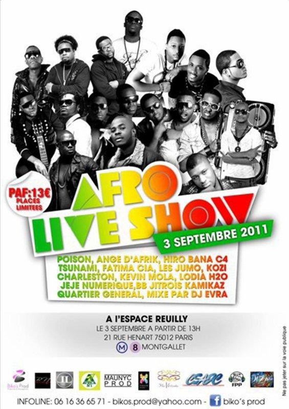 BIKO'S PROD PRÉSENTE L' ÉVÉNEMENT AFRO LIVE SHOW