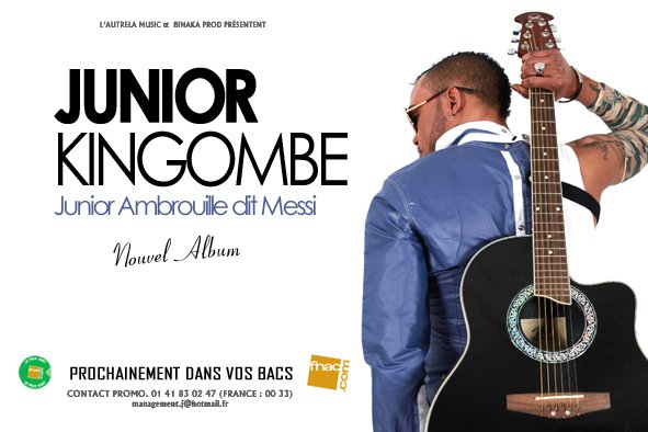 "JUNIOR EMBROUILLE ""DIT MESSI"" PREMIER ALBUM SOLO BIENTÔT DISPONIBLE"