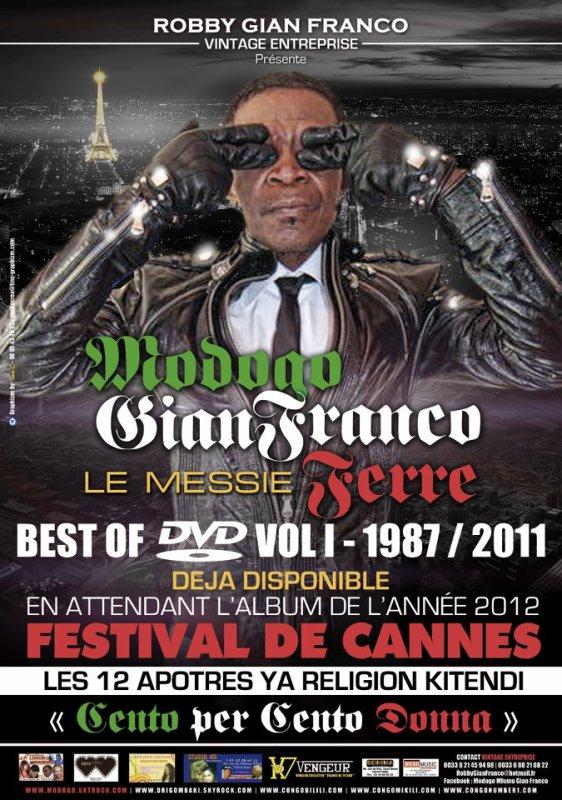 MODOGO GIANFRANCO FERRE/ SPOT CLÔTURE DE L' ANNEE 2011/ NOUVEL ALBUM FESTIVAL DE CANNES/ SORTIE PRINTEMPS 2012.