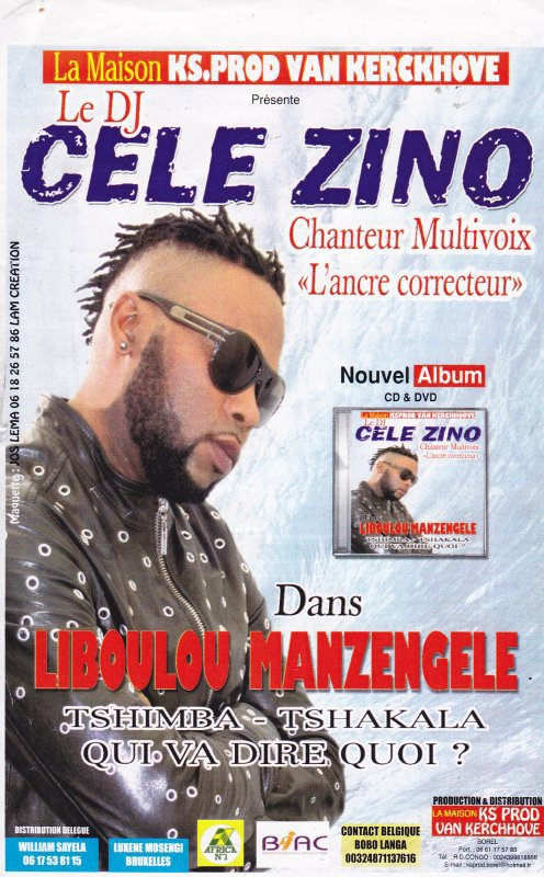 "CELEZINO EXCLUSIVITE CLIP ""MUSHENI"" EXTRAIT NOUVEL ALBUM LIBULU MANZENGELE/ DISPONIBLE EN 2012/ PRODUCTION KS PROD."