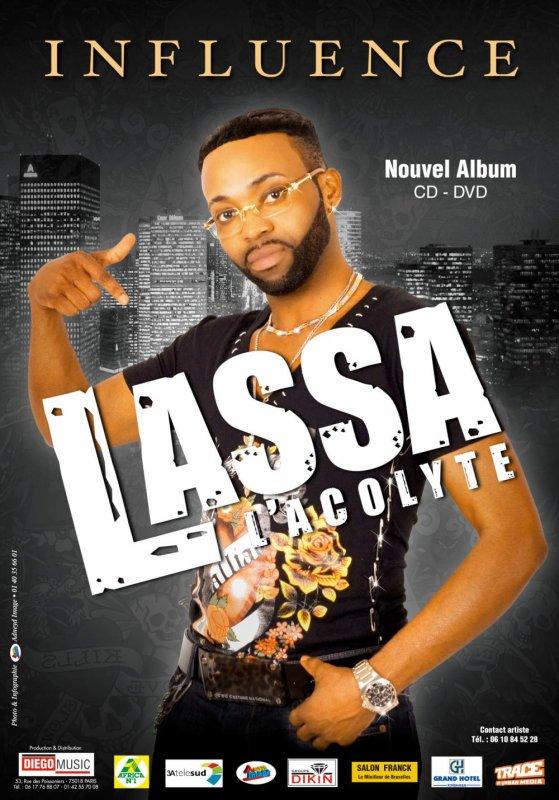 LASSA L' ACOLYTE DANS SON PREMIER ALBUM INTITULÉ INFLUENCE/ DISPONIBLE FÉVRIER 2012