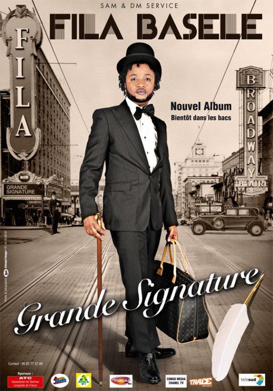 """FILA BASELE/ CLIP 3 HEURES - EXTRAIT DE L' ALBUM """"GRANDE SIGNATURE"""" PROCHAINEMENT DISPONIBLE"""