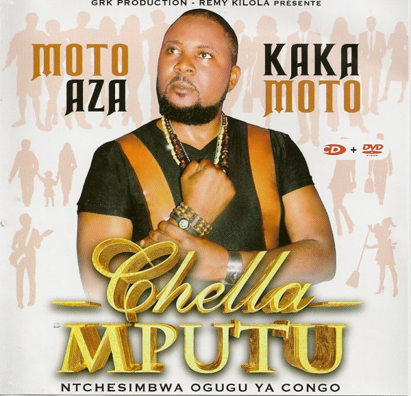 "SHELA MPUTU NOUVEL ALBUM ""MOTO AZA KAKA"" DEJA DISPONIBLE DANS VOS POINTS DE VENTES"