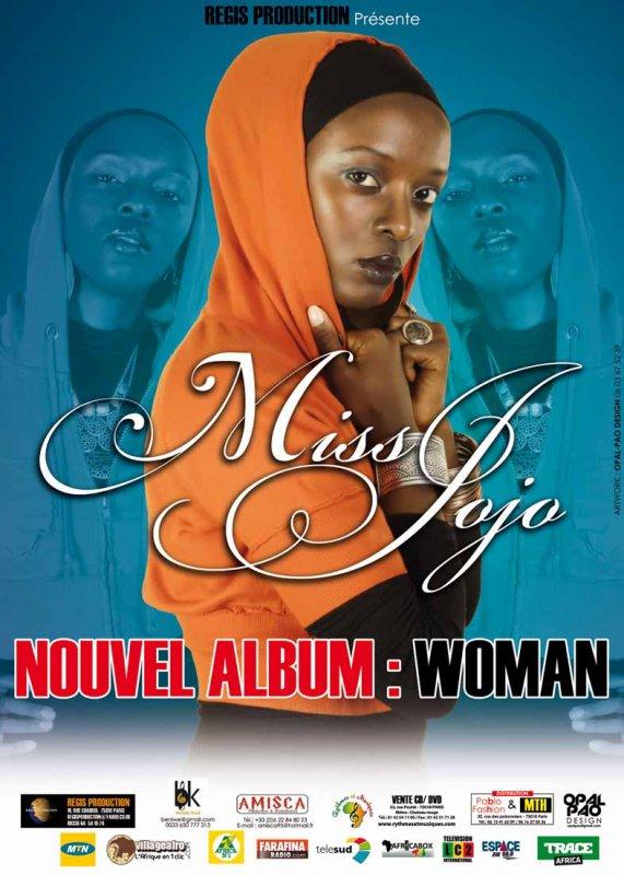 """MISS JOJO/ LA NOUVELLE VOIX DU RWANDA - NOUVEL ALBUM """"WOMAN"""" DÉJÀ DISPONIBLE EN VENTE"""