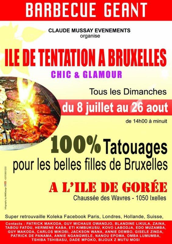 CLAUDE MUSSAY PRESENTE LES EVENEMENTS DE L' ETE 2012 A BRUXELLES