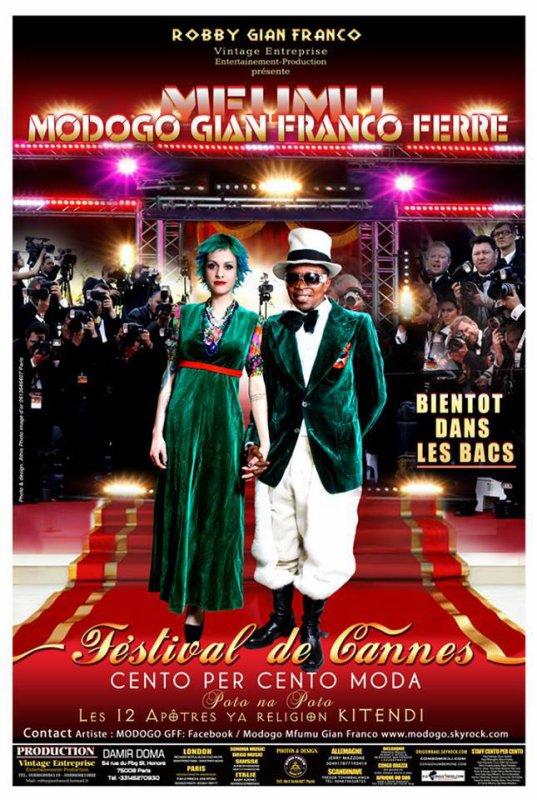 """ENFIN MODOGO GIAN FRANCO FERRE LANCE LA 1ére CHANSON DE SON ALBUM """"FESTIVAL DE CANNES"""" AU PUBLIC... PARIS EN ALERTE!!!..."""