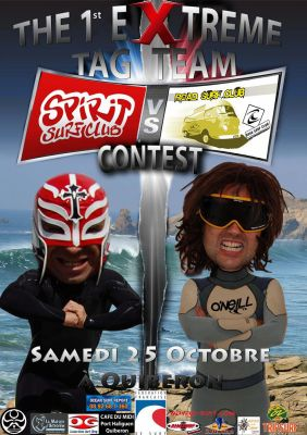the extreme contest surf quiberon 25 octobre