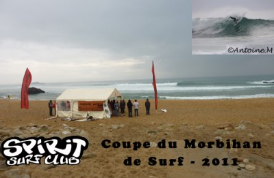 COUPE DU MORBIHAN DE SURF 2011 QUIBERON