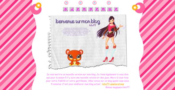 Évaluation de ton blog