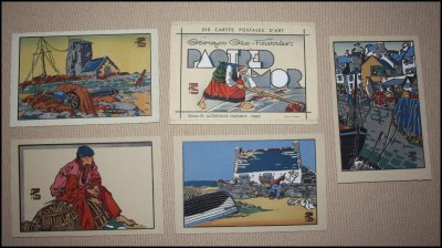 Les cartes postales au pochoir de Georges Geo Fourrier