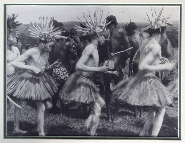 photographie Oubangui Chari A.E.F danse GANZ'A  Georges Geo Fourrier