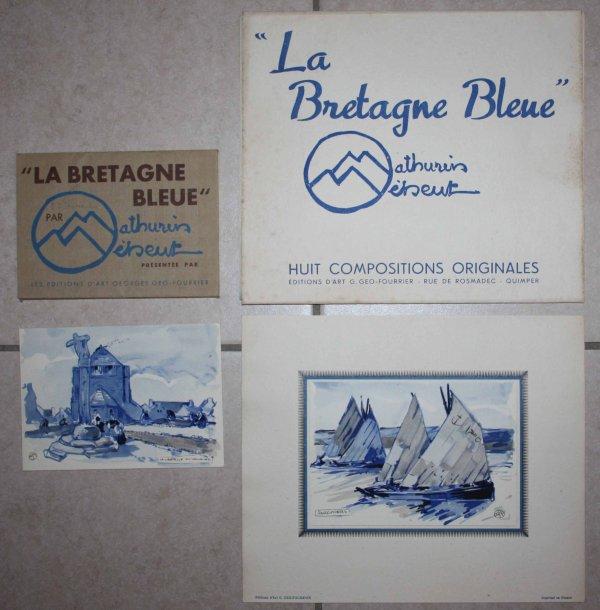 Mathurin Meheut la Bretagne bleue , édition Geo Fourrier