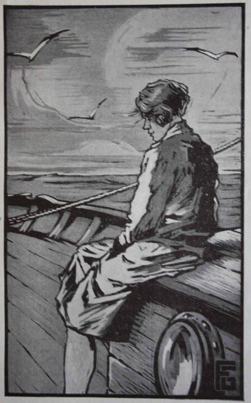l'oiseau noir roman de Julien Guillemard illustré par Georges Geo Fourrier