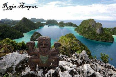 L'archipel de Raja Ampat.