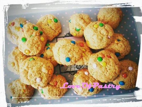Cookies prêt à cuisiner