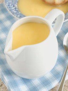 Crème anglaise classique