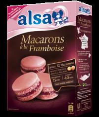 Préparation macarons #Framboise