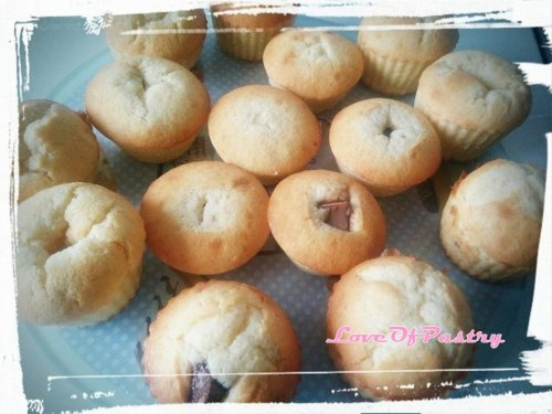 Muffins aux Kinders