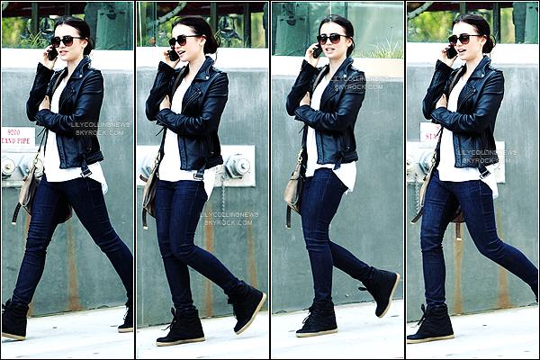 *   31/05/2012 - Lily à été photographié dans les rues de Bervely Hills  J'adore sa tenue. Un très gros top pour moi *