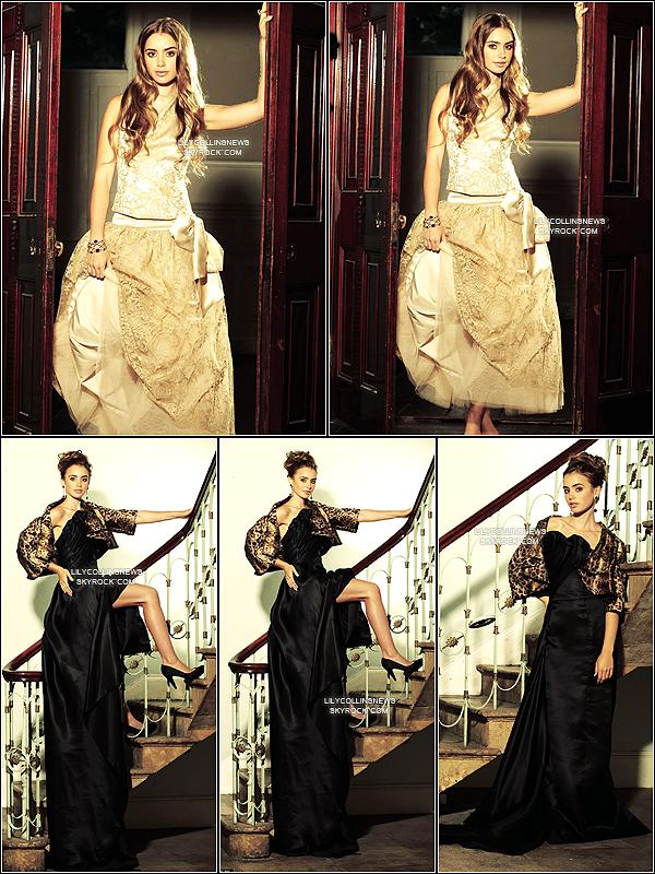 *   2007 -  (Re)découvre ce photoshoot de Lily fait en 2007 *