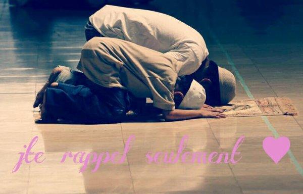 Qui doit faire la priere?
