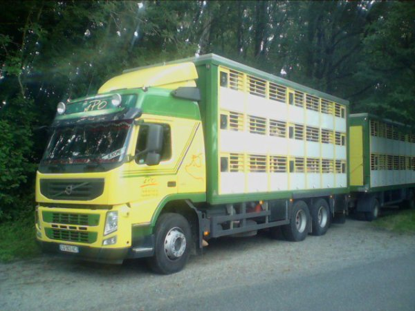 camion betaillere volvo