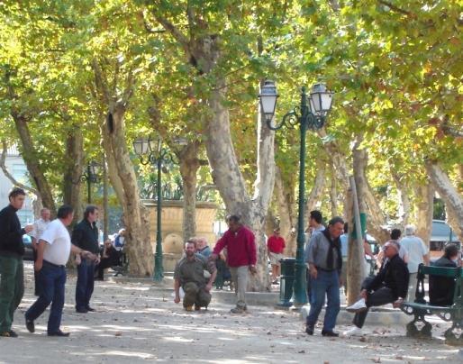 Pétanque de St Paul... à St Tropez