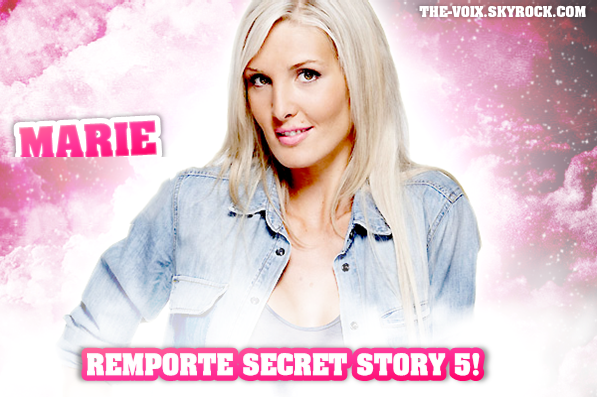 Marie remporte Secret Story 5!