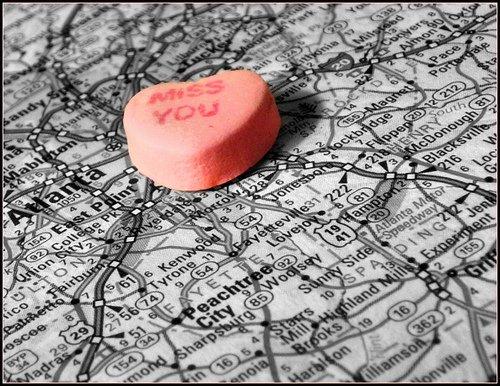 Les relations amoureuses à distance