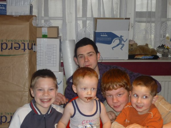 Les enfants de Joel, manque Fabrice