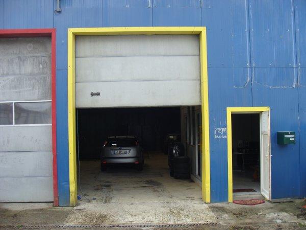 l entre du garage