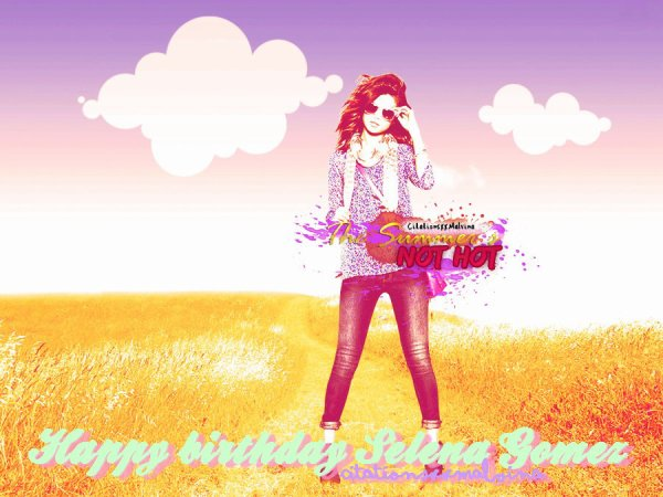 Happy Birthday Selena Gomez ♥ 21 ans !