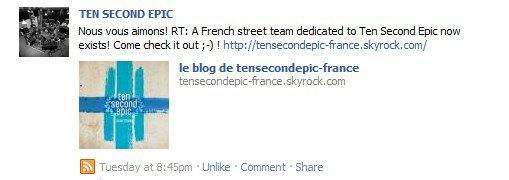 Ten Second Epic aiment la France et les français ;-)