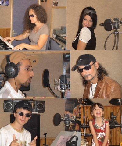 HighStone au Black White & Blue Music Studio Project
