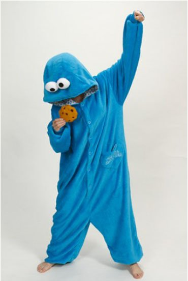 The original Street: Cookie Monster and Elom