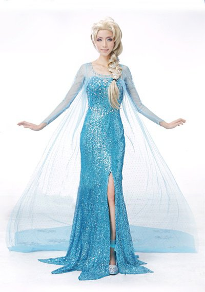 Frozen Princess Elsa Costume Handmade