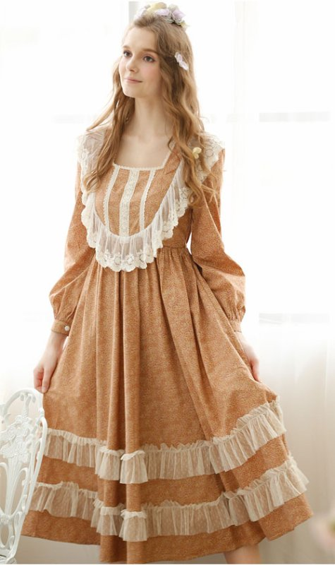 Uptown Girl Cotton Vintage Nightdress