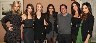 "Nina Dobrev & Candice Accola ""Kick Ass"" at 2011 Winter TCA Press Tour"