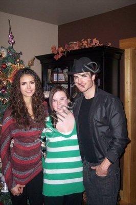 Interview de Ian pour EW et Photo Ian Nina la veille de Noel !!