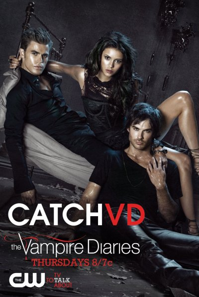 New The Vampire Diaries par TV Guide et New Poster VD