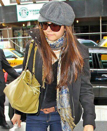 Ian et Nina arrivant à New York
