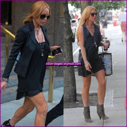 ♥ (Flashback) 11/09/13 : Lindsay à NYC puis à la Fashion Week Automne+ Quelques photos personnelles de Lindsay ♥