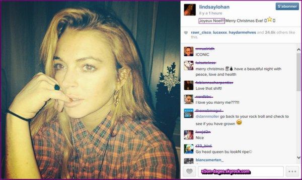 ♥ 23/12/13 : Lindsay faisant les achats de Noël à NYC + Quelques photos personnelles de Lindsay  ♥