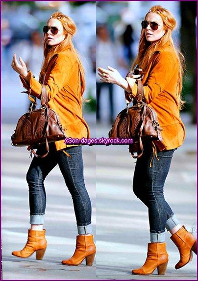 ♥ (Flashback) 09/09/13 : Lindsay dans NYC + Quelques photos personnelles de Lindsay ♥