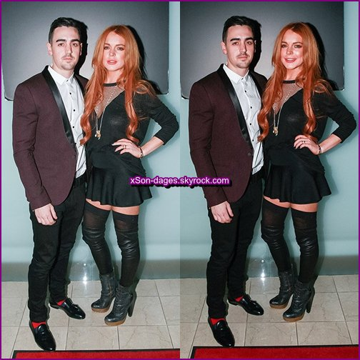 ♥ 16/01/14 : Lindsay dans un club à Londres (avec son frère) + Quelques photos personnelles de Lindsay + Lindsay avec d'autres stars ♥