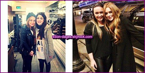 ♥ 19/01/14 et 20/01/14 : Lindsay a été repéré à la sortie d'un restaurant dans Londres puis elle était dans un nightclub. Lindsay était au Festival de Sundance le 20, dans l'Utah + Quelques photos personnelles de Lindsay + Photos avec 2 fans ♥