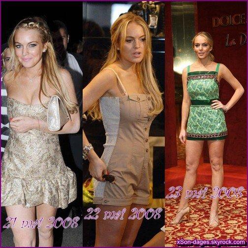 ♥ Article Spécial : Lindsay à Cannes (2014, 2010 et 2008) ♥
