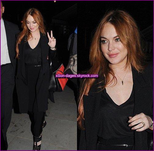 ♥ 28/05/14 et 29/05/14 : Lindsay dans les rues de Londres + Quelques photos personnelles ♥