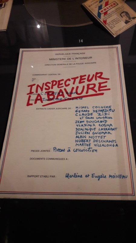 EXPOSITION COLUCHE A L HOTEL DE VILLE DE PARIS
